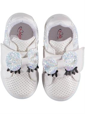 Missiva White Baby Girl Sneakers 21-25 Number (1)