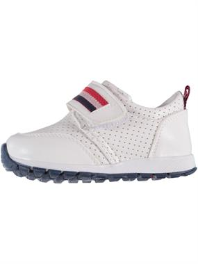 Barbone Baby Boy White Sneakers 21-25 Number (2)