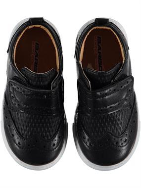 Barbone Erkek Bebek Spor Ayakkabı 21-25 Numara Siyah