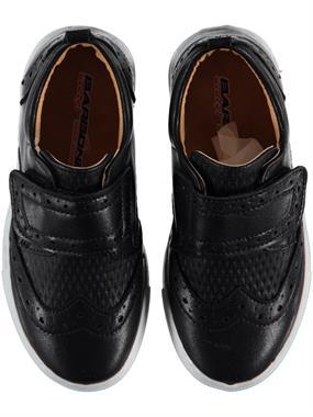 Barbone Erkek Çocuk Ayakkabı 26-30 Numara Siyah