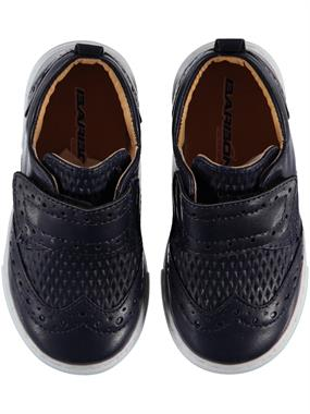 Barbone Baby Boy Navy Blue Sneakers 21-25 Number
