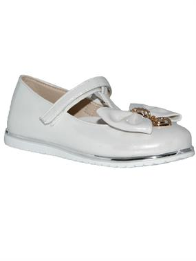 Missiva Numbers 31-35 Girls White Ballet Flats