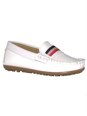Barbone Boy White Shoes 26-30 Number