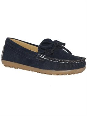 Barbone Navy Blue Boy Shoes 26-30 Number