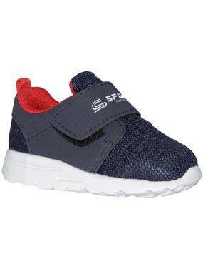 Sport Boy Navy Blue Sneakers 21-25 Number