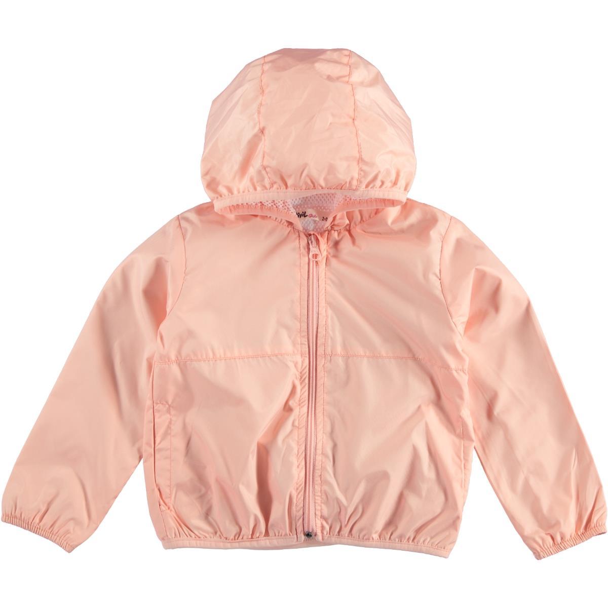 Civil Girls 2-5 Years Pink Girl Raincoat Hooded