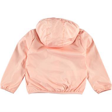 Civil Girls 2-5 Years Pink Girl Raincoat Hooded (3)