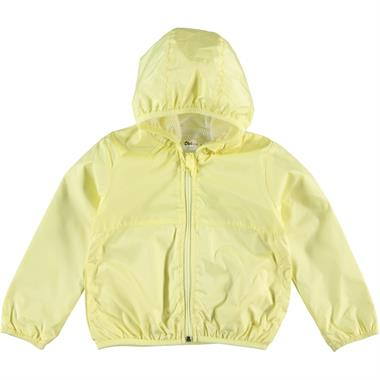 Civil Girls Girl's Yellow Hooded Raincoat 2-5 Years