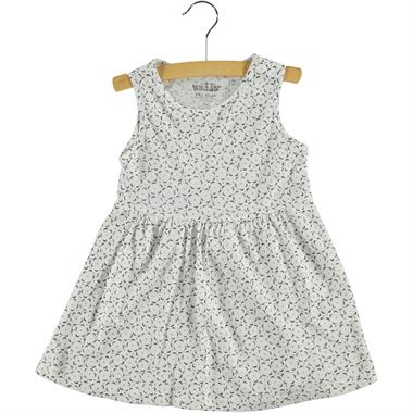 Kujju 6-18 Months Baby Girl Dress Ecru