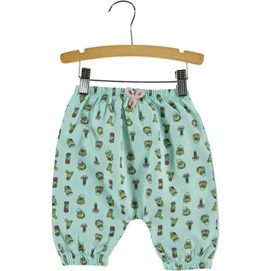 Civil Baby 6-18 Months Baby Girl Mint Green Pants