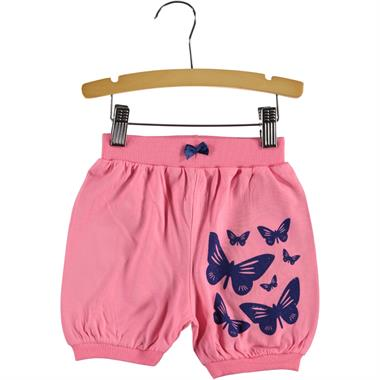Civil Girls 2-5 Years Baby Girls Pink Shorts