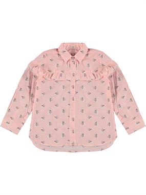 Civil Girls Salmon Shirt Boy Girl 2-5 Years