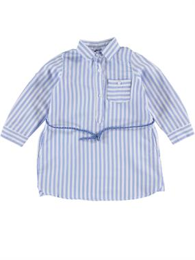 Civil Girls Tunic Striped Shirt Blue 2-5 Years