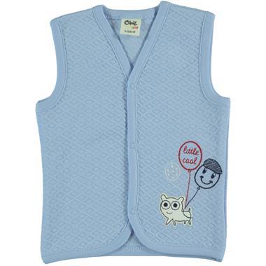 Civil Baby 3-12 Months Baby Boy Blue Vest Kujju