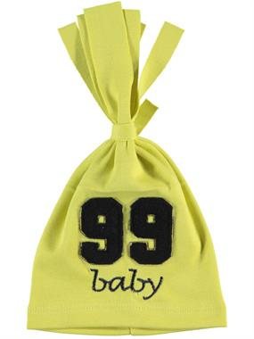 Albimama 99 Beanie Baby Age 0-2 Yellow Embroidered