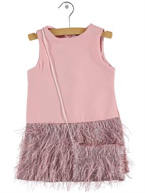 Civil Girls Girl Child Bag Dress With Pink 2-5 Years
