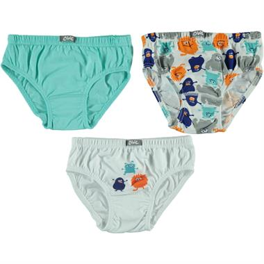 Civil Boys Boy 3-Panty set white