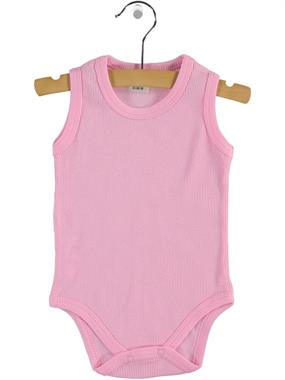 Civil Baby 0-12 Months Baby Pink Bodysuit With Snaps