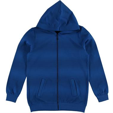 Cvl Blue Hooded Cardigan Saks Boy Age 10-13