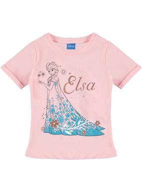 Disney Frozen Kids Frozen Girl T-Shirt Pink Ages 3-8