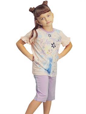 Frozen Kız Çocuk Kaprili Takım 1-4 Yaş Pembe