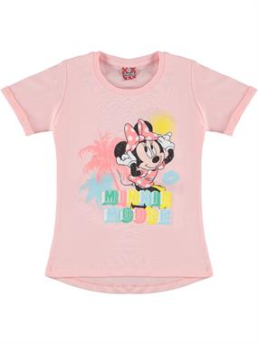 Minnie Mouse Girl In A Pink T-Shirt 5-8 Years (1)