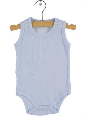 Civil Baby 0-12 Months Baby Bodysuit With Snaps, Blue