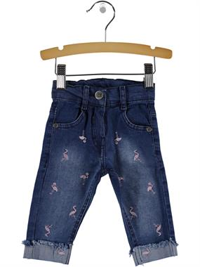 Civil Baby Baby Girl Jeans Blue-6-18 Months