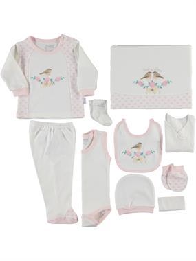 Nenny Baby Newborn baby girl pink 10 Zibin team