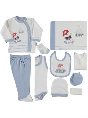 Nenny Baby Newborn baby boy blue 10 Zibin team