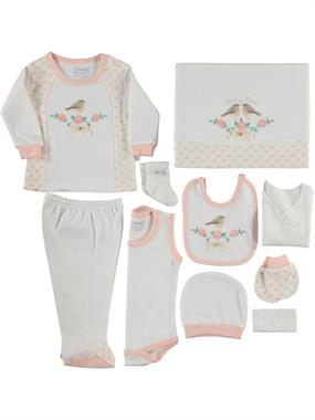 Nenny Baby Newborn baby girl Zibin Team 10 Salmon