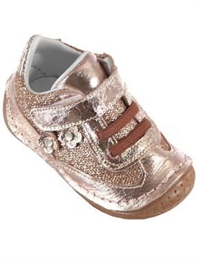 Baby Force Baby Girl First Step Shoes Brown 18-21 Number