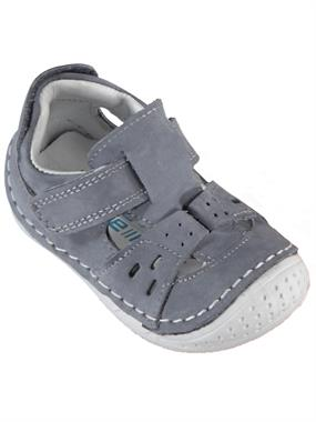 Baby Force Baby Boy First Step Shoes Gray Number 18-21