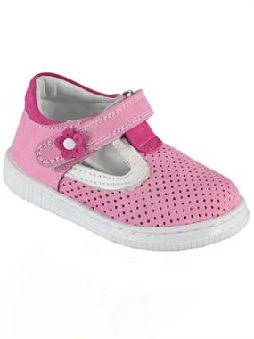 Baby Force Baby Girl First Step Shoes Pink 19-22 Number