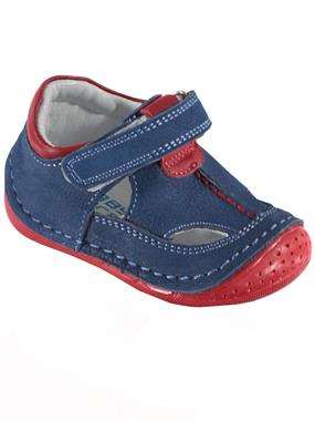 Baby Force Baby Boy First Step Shoes, 18-21 Indigo Number