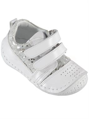 Baby Force White Baby Girl First Step Shoes Number 18-21