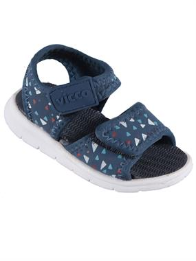 Vicco Baby Shoes Sandals Navy Blue Numbers 22-25