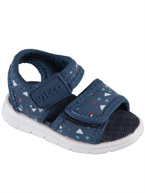 Vicco Navy Blue Sandals Baby Boy First Step 19-21 Number