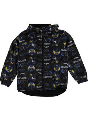 Batman Boy's Hooded Raincoat, Black, Age 7-9