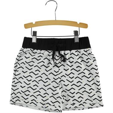 Cvl White Boy Shorts Girl Ages 6-9