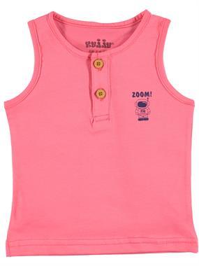 Kujju Erkek Bebek Tişört 6-18 Ay Yavruağzı