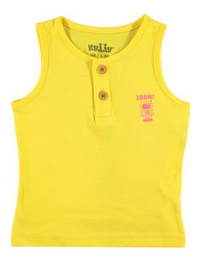 Kujju Erkek Bebek Tişört 6-18 Ay Sarı