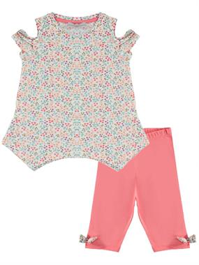 Cvl Ecru Girl Short Tight Spandex Suit 2-5 Years