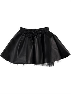 Civil Girls Girl In Black Leather Skirt 2-5 Years