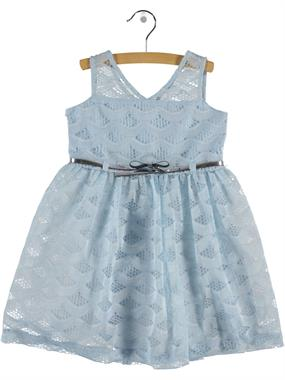 Civil Girls Girl Blue Lace Dress Age 6-9