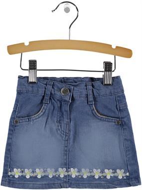 Civil Girls 2-5 Years Denim Blue Skirt Girl