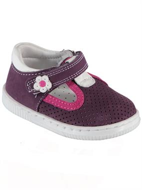 Baby Force Baby Girl First Step Shoes Purple 19-22 Number