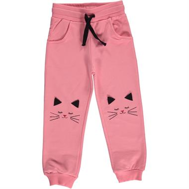 Cvl Pinkish Orange Sweatpants 2-5 Years Girl