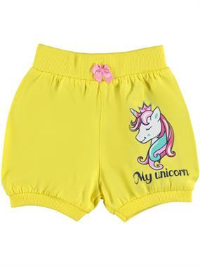 Civil Baby 6-18 Months Baby Girl Yellow Shorts
