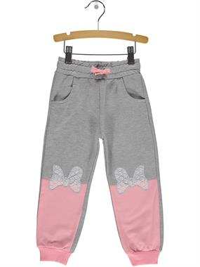 Cvl Girl In Gray Sweatpants 2-5 Years